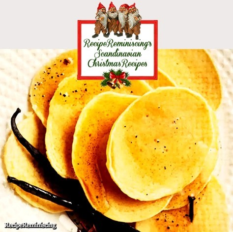 Norwegian Griddle cakes with Christmas Syrup