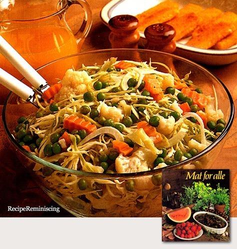 Winter Salad / Vintersalat