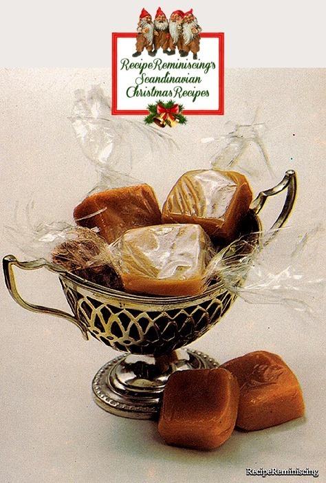 Danish Cream Toffees / Danske Flødekarameller