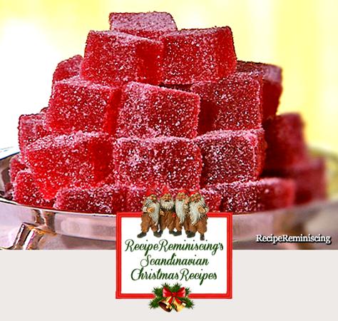 Homemade Raspberry Wine Gum