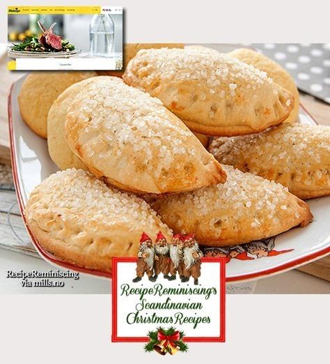 Norwegian Halfmoon Cookies / Halvmåner