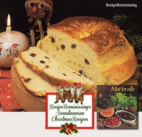 Norwegian Christmas Cake