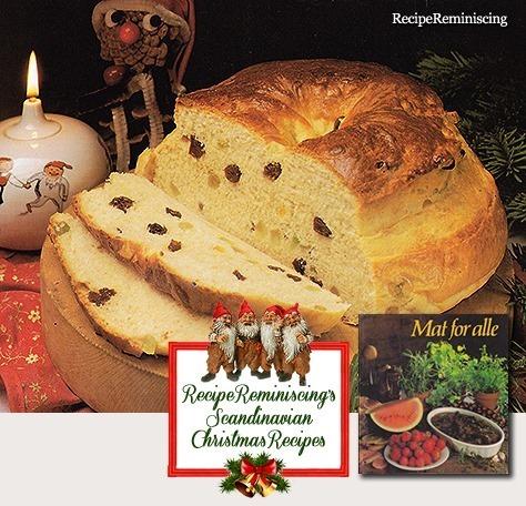 Norwegian Christmas Cake / julekake