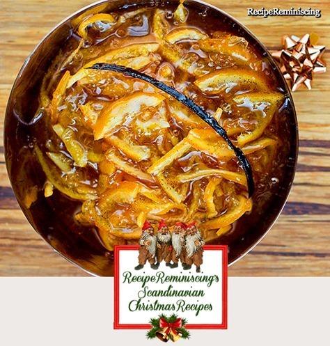 Christmas Klementine Marmelade / Julens Klementinmarmelade