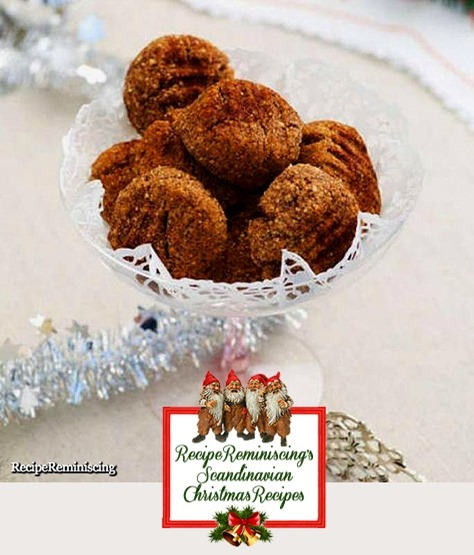 Swedish Cinnamon Cookies