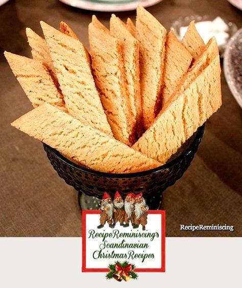 Swedish Cardamom Cookies / Kardemummakakor