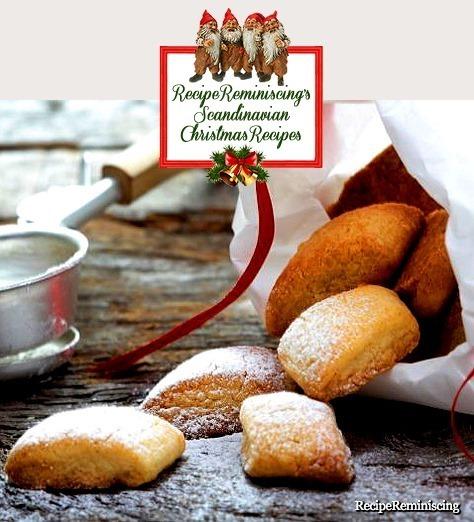 Norwegian Cognac Cookies / Konjakksnitter