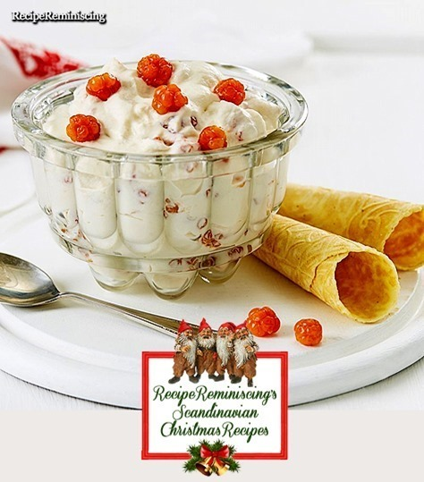 Norwegian Cloudberry Cream / Multekrem