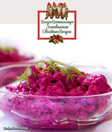 Norwegian Beet Salad / Rødbetsalat