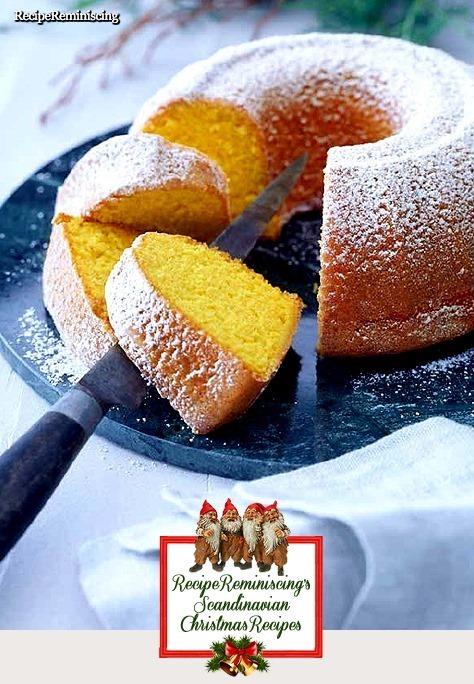 Danish Saffron Cake / Dansk Safrankage