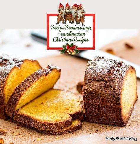 Safran Sponge Tasting of Christmas / Safransukkerbrød med Smak av Jul