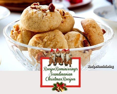 Norwegian Serina Cookies / Serinakaker