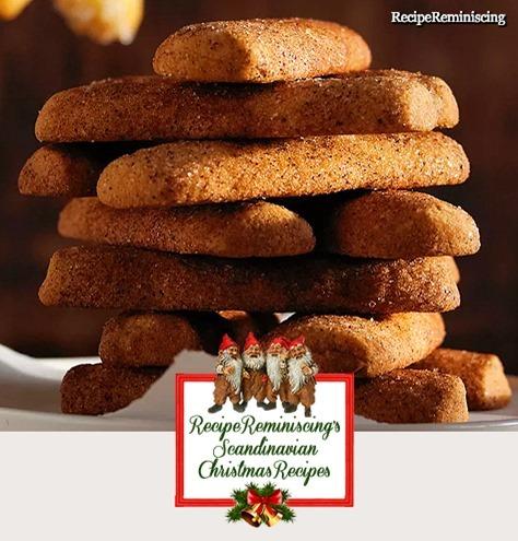 Norwgian Crispy Cinnamon Sticks