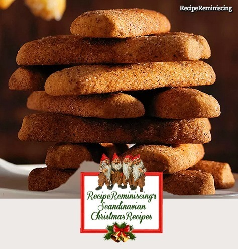 Norwgian Crispy Cinnamon Sticks / Sprø Kanelpinner