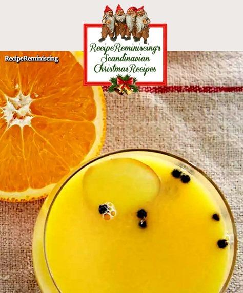 Warm Orange Drink with Ginger
