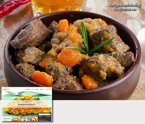 Norwegian Beef and Beer Casserole / Okse- og Ølgryte