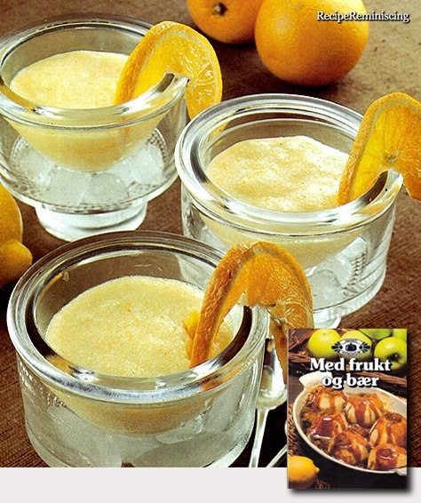 Orange Mousse / Appelsinmousse