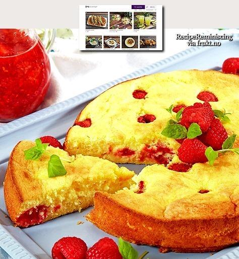 Raspberry Cake / Bringebærkake