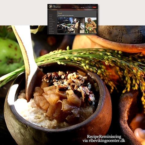 Viking Millet Porridge with Stewed Apples