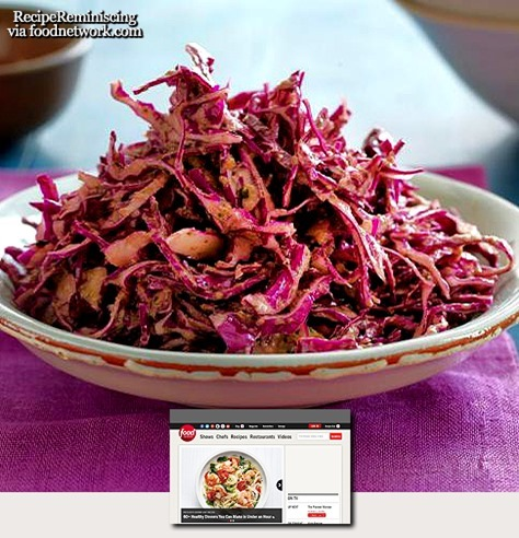 Red Cabbage Slaw / Rødkålslaw