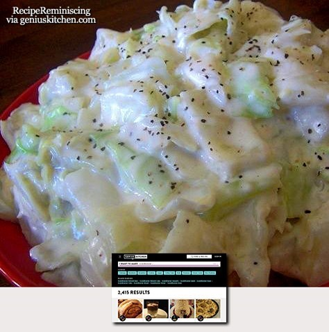 Creamed Cabbage Norwegian Style / Stuet Kål