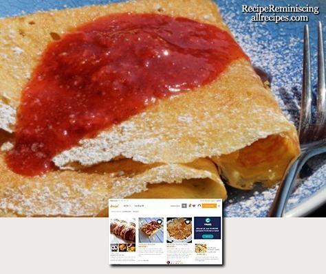 Finnish Pancakes / Finske Pannekaker