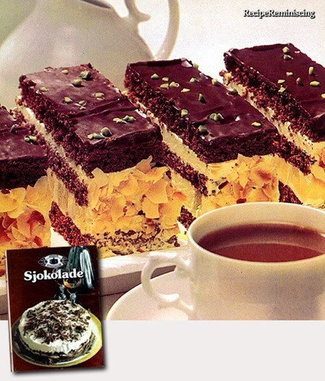 Filled Chocolate Bars / Fylte Sjokoladesnitter