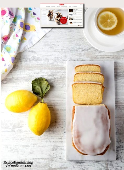 Old-fashioned Norwegian Lemon Cake / God Gammeldags Sitronkake