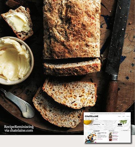 Herbed Cheddar Soda Bread / Natronbrød med Urter og Cheddar