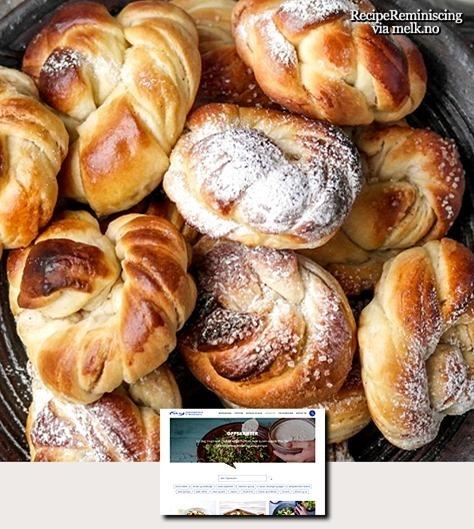 Norwegian Cinnamon Buns – Basic Recipe / Kanelboller Grunnoppskrift