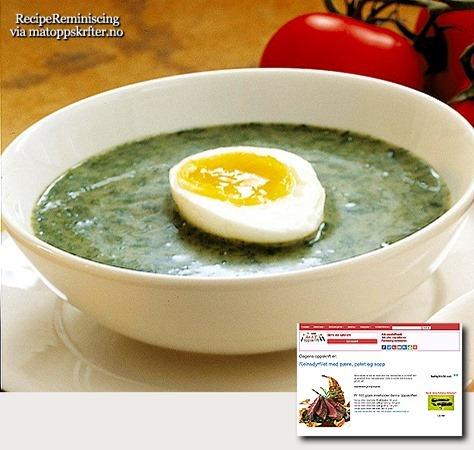 Caraway Cabbage Soup from Northern Norway