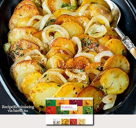 Onion and Thyme Potatoes