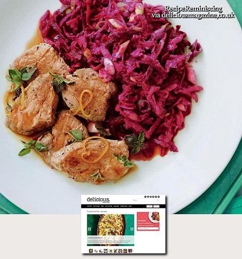 Pork and Coleslaw / Svinekjøtt med Coleslaw