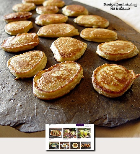Norwegian Potato Patties / Potetlapper