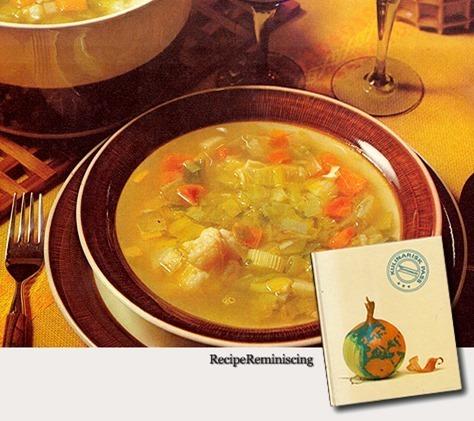Swedish Vegetable Soup / Svensk Grønnsakssuppe