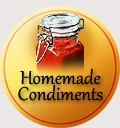 traditional badge condiments