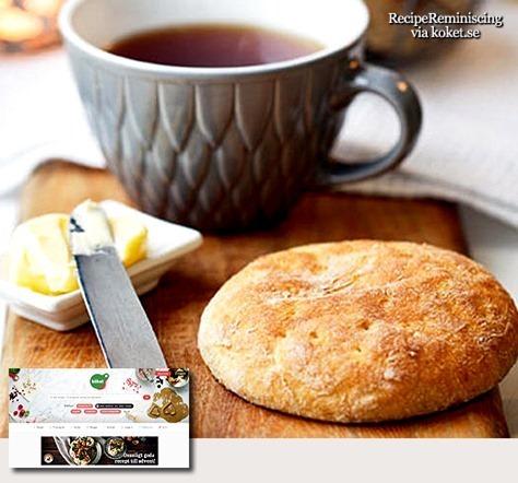 Gluten-Free Swedish Tea Cakes / Glutenfria Tekakor