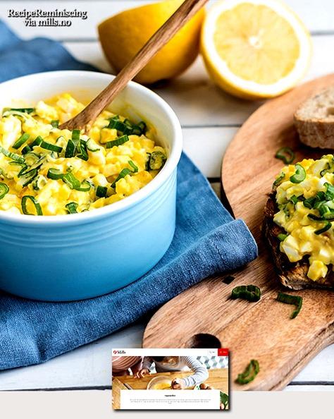 Hjemmelaget Eggesalat