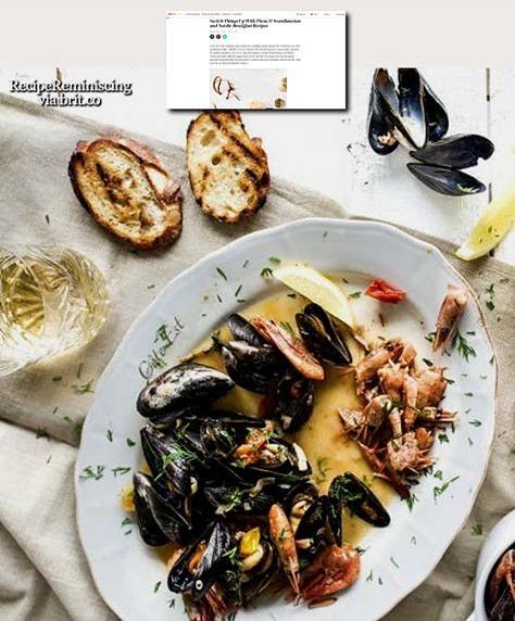 Scandinavian Seafood Stew / Skandinavisk Sjømatstuing
