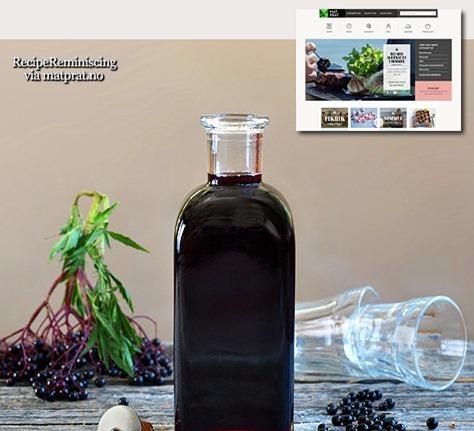 Elderberry Cordial / Hyllebærsaft